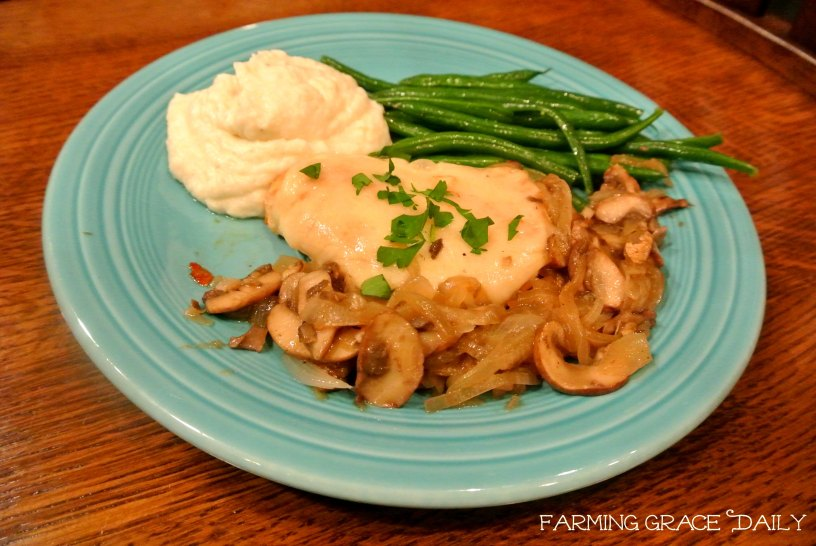 Swiss Smothered Chicken