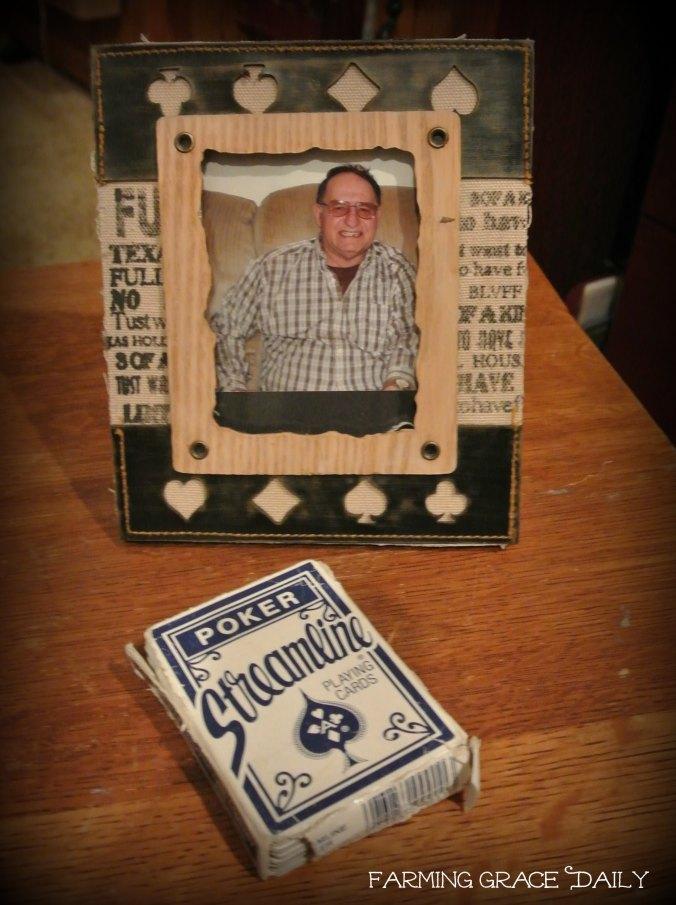 Poker Dad Grief