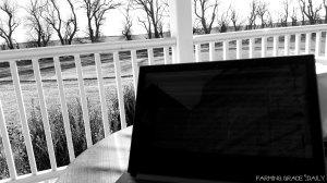 Blogging bw