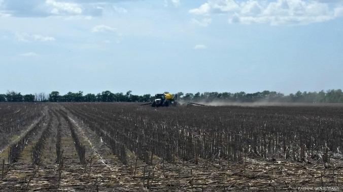 2016 soybean planting