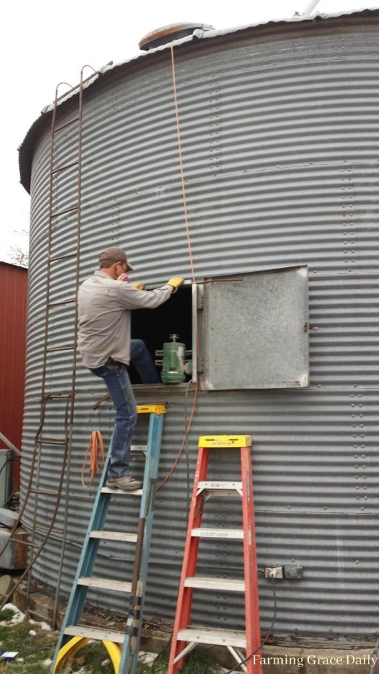 farm-grain-bin-farmer