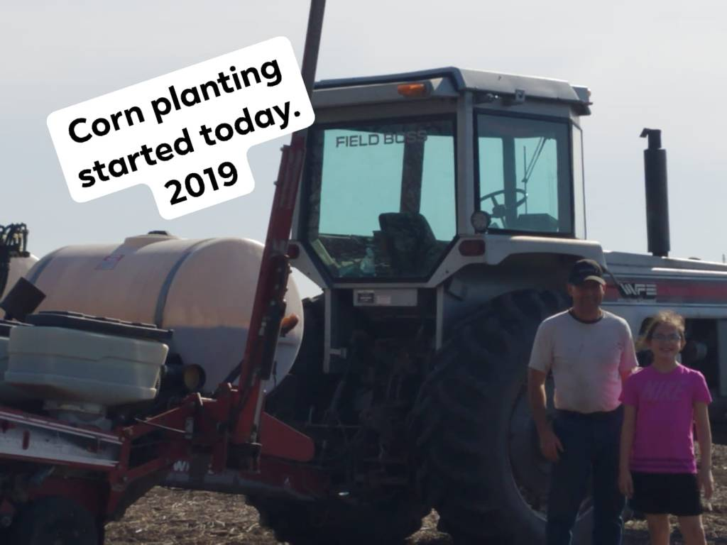 April 2019 – Corn Planting | Farming Grace Daily